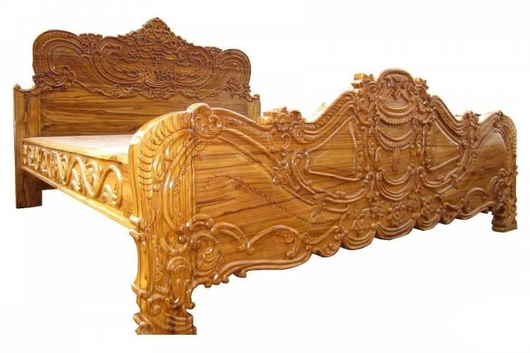 Carved king size bed furniture visakhapatnam